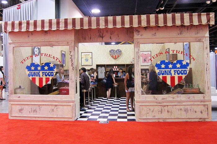 Trade show booth displays tips for eye catching exhibition - Food booth ideas ...
