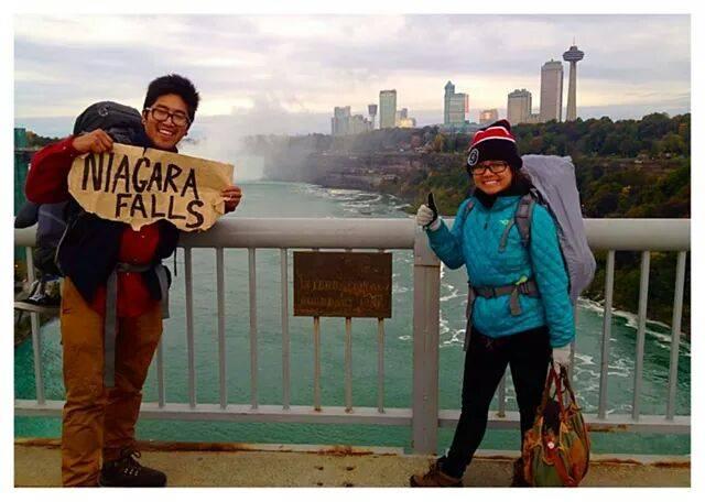 hitchhiking niagra america