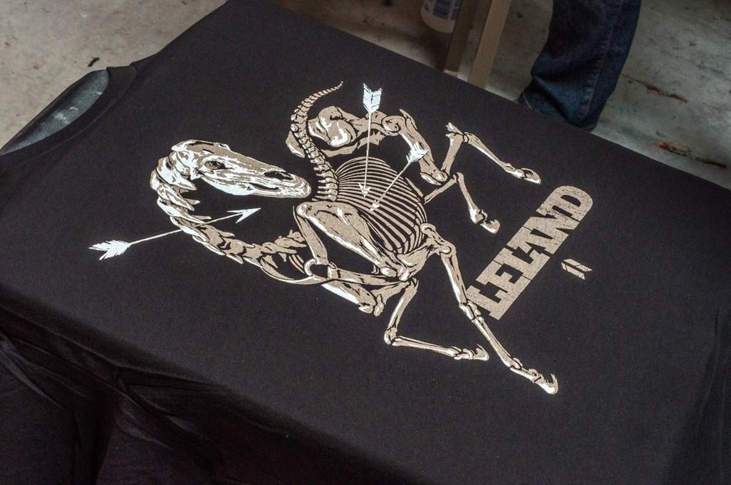 Leland Oh boy print shop