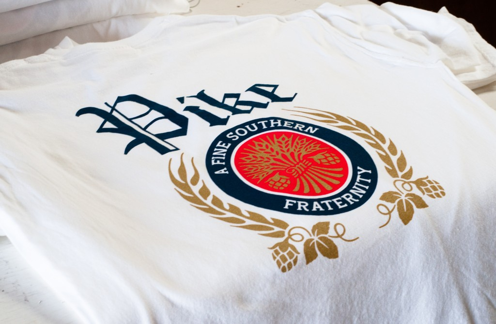 PIKE screen printing